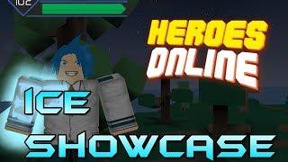 CÓDIGO ICE QUIRK SHOWCASE | Heróis online | Roblox