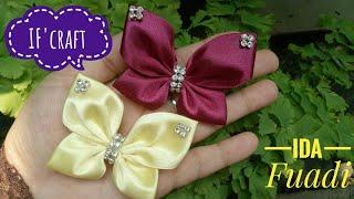 145) DIY Amazing Ribbon Butterfly Making at Home/Easy Butterfly Tutorial, hvordan lage en sommerfugl