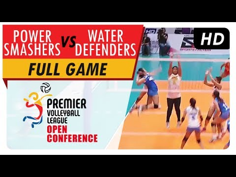 Power Smashers vs. Water Defenders | Game Highlights | PVL Open Conference | July 2, 2017