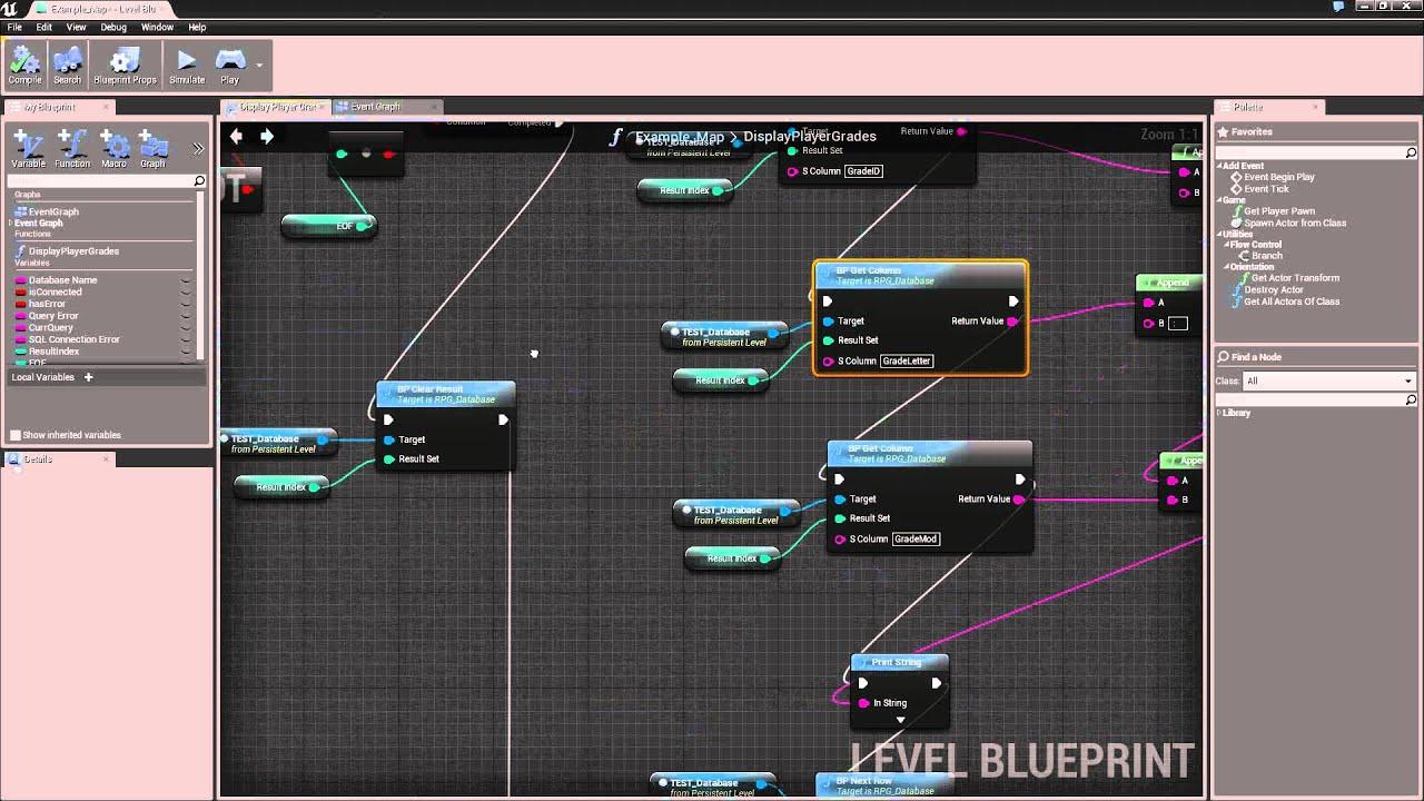 Unreal engine 4 sqlite3 integrated youtube unreal engine 4 sqlite3 integrated malvernweather Gallery