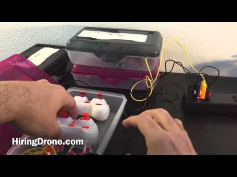 Quadcopter Mini Storage and Charging Hack