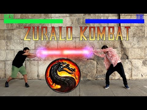 Zuralo Kombat - Roma verekedős játék