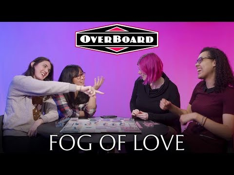 Let's Play FOG OF LOVE, a Romantic Comedy Board Game — Overboard, Episode 2