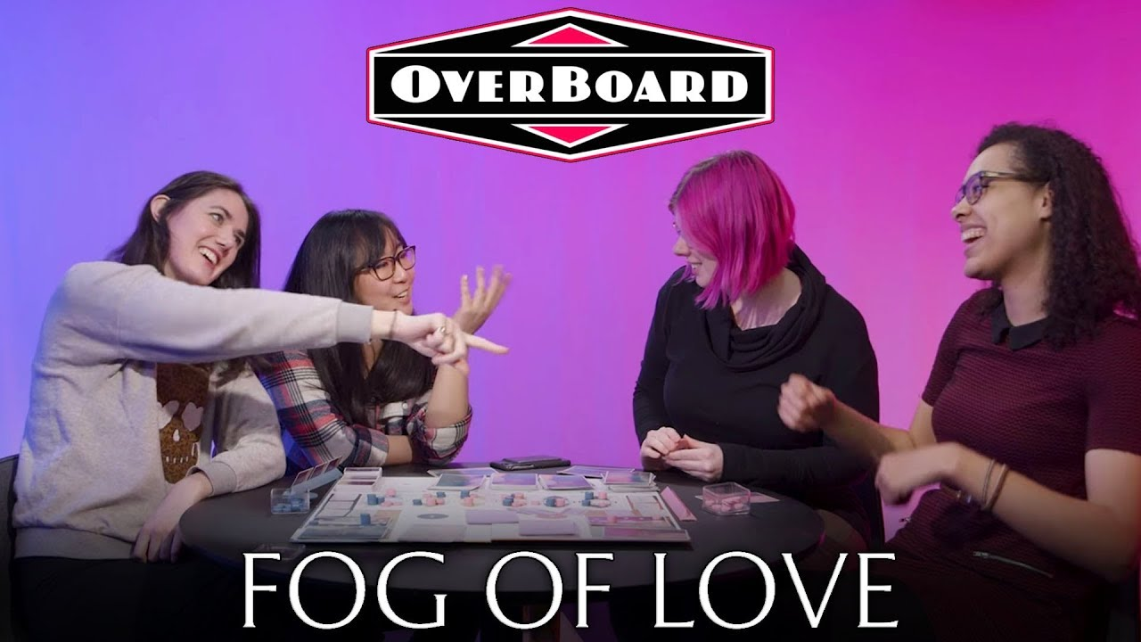 Let S Play Fog Of Love A Rom Com Board Game Overboard