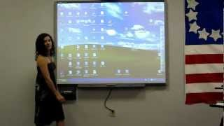 The Basics of How to Use a SMARTboard