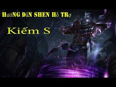 Hướng dẫn chơi Shen hỗ trợ mùa 9- [Ken Support]