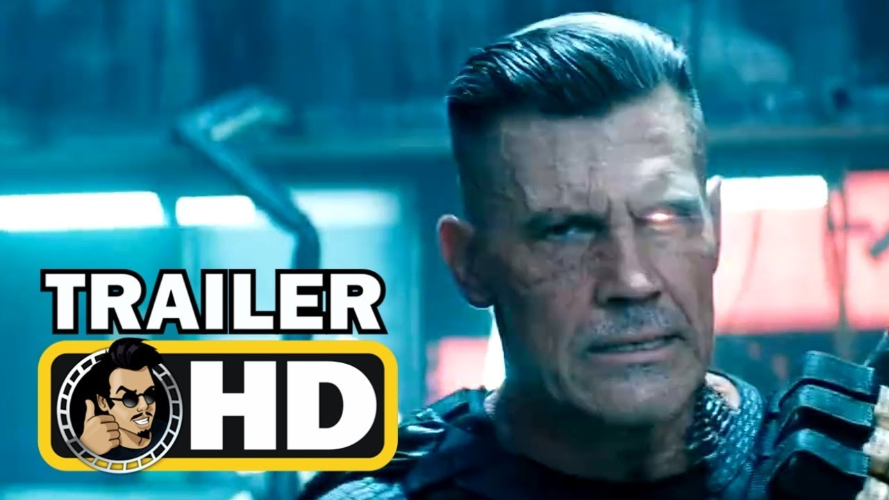 Download DEADPOOL 2 Official Trailer #4 - Meet Cable (2018) Ryan Reynolds Marvel Movie HD