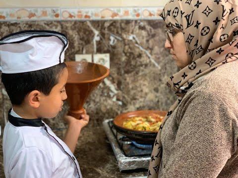 طفل مغربي يتغلب على -طيف التوحد- بهواية الطبخ  - 19:59-2020 / 2 / 22