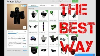 The Best way to look like Venom on Roblox (Venom 2018)