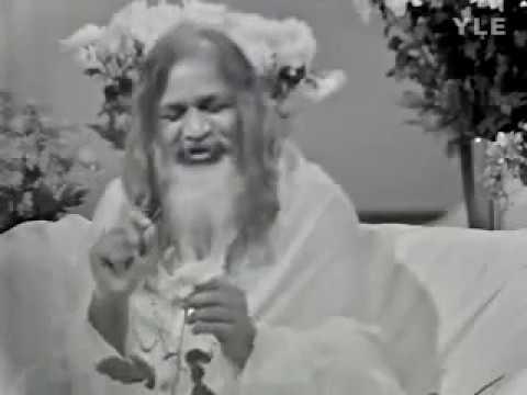 TV Interview with Maharishi Mahesh Yogi - Finland, 1973