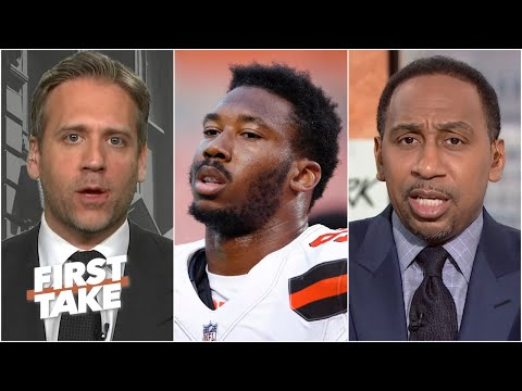 How Does Myles Garrett Look In Light Of Mike Tomlin Defending Mason Rudolph?   First Take