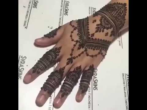 Perfect Henna tutorial