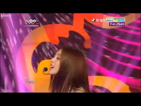 120810 Music Bank BOA Only one ft Eunhyuk (Super Junior)