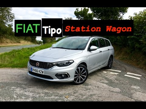 2016 fiat tipo station wagon review inside lane youtube. Black Bedroom Furniture Sets. Home Design Ideas