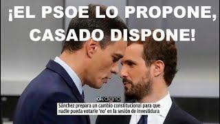 ¡APUNTAN A UN PACTO SECRETO PP PSOE PARA DEJAR SIN OPCIONES A PODEMOS Y VOX!