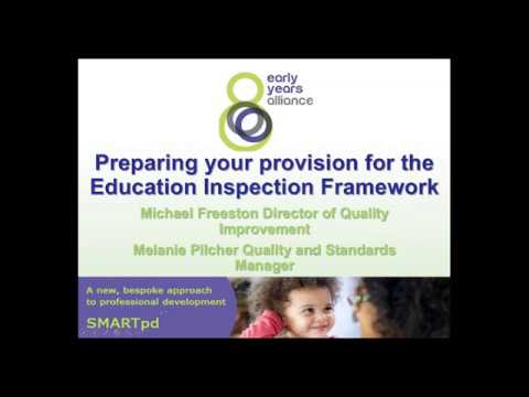 Preparing Your Provision For The Education Inspection Framework