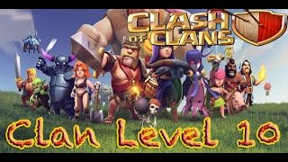 Clash of Clans lvl 10 clan #64 in the WORLD!!