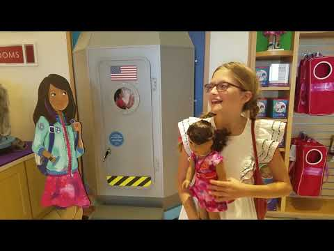 American Girl Doll Store And Cafe Los Angeles Grove TOUR