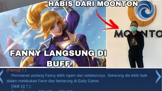 NEW UPDATE MOBILE LEGENDS FANNY DI BUFF LAGI?! TAPI MALAH KAYA GINI.......