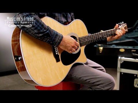 Martin Custom GP-28 Grand Performance Acoustic-Electric Guitar