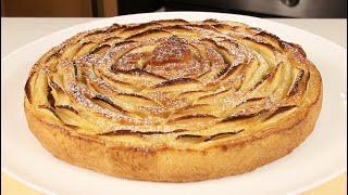 """УДИВИТЕ ВСЕХ! Яблочный Пирог """"Чайная роза""""! Простой Рецепт Красивого Пирога!"""