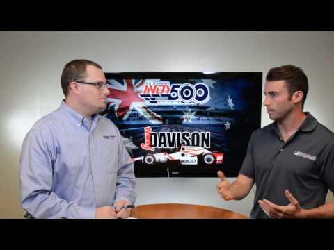 James Davison talks 101st Indianapolis 500