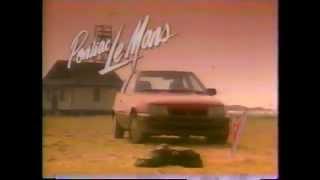 1988 Pontiac LeMans Car Commercial