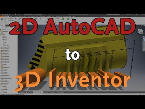 Import AutoCAD Drawings to Inventor | Autodesk Virtual Academy