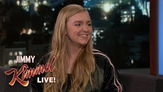 Elsie Fisher on Starring in Movie Eighth Grade thumbnail