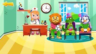 Let's Play • Kids Hospital • Zabawa w szpital dla dzieci, leczenie zwierząt, Bajki, Gry dla dzieci