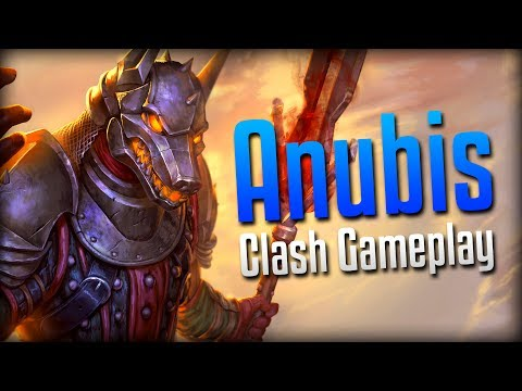 Smite: Lifesteal Too Strong!- Jackal Knight Anubis Clash Gameplay