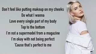 Anne-Marie - Perfect To Me [Full HD] lyrics