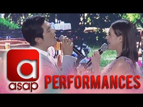 "ASAP: ""Kasal"" stars Bea Alonzo and Paulo Avelino's duet version of Tagpuan"
