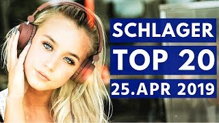 SCHLAGER CHARTS 2019 - Die TOP 20 vom 25. April