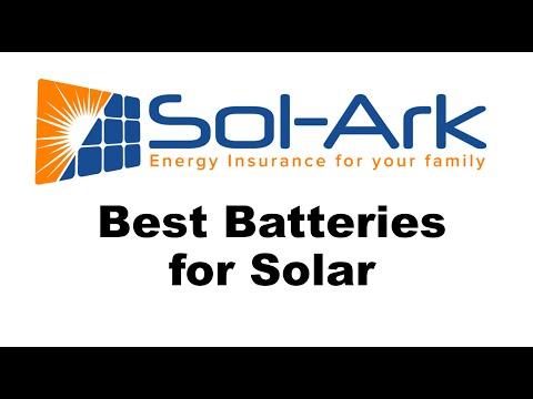 Best Batteries for Solar
