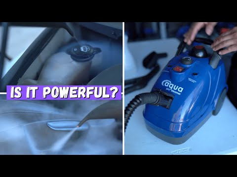 Testing The NEW Aqua Pro STEAMER | Best Affordable Steam Cleaner For Interior Cleaning?