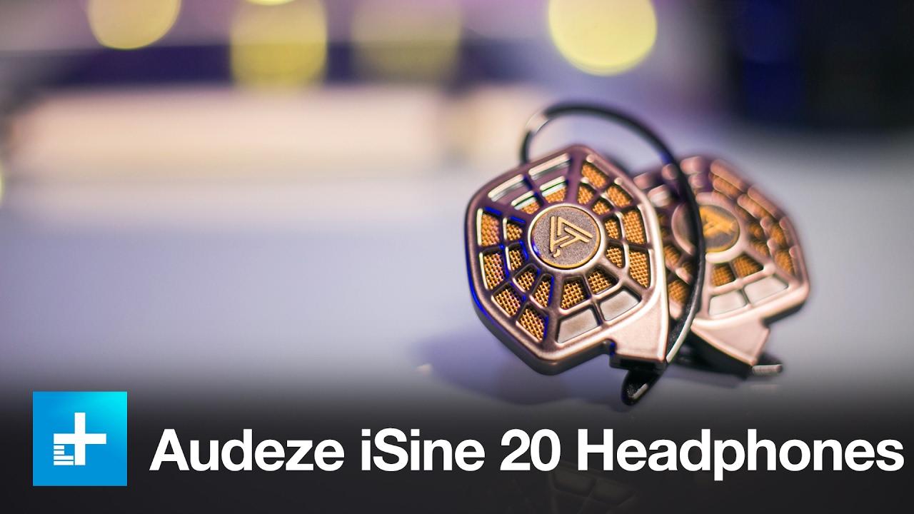 578df8c4d18 Audeze iSine 20 Planar Magnetic Headphones - Hands On Review - YouTube