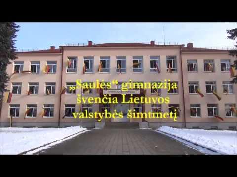 """Utenos """"Saulės"""" gimnazija švencia Lietuvos šimtmetį"""