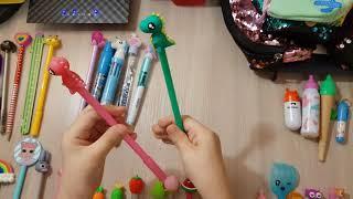 BACK TO SCHOOL????✏✒????????????????!!! Пеналы и ручки! Обзор новой канцелярии!!!