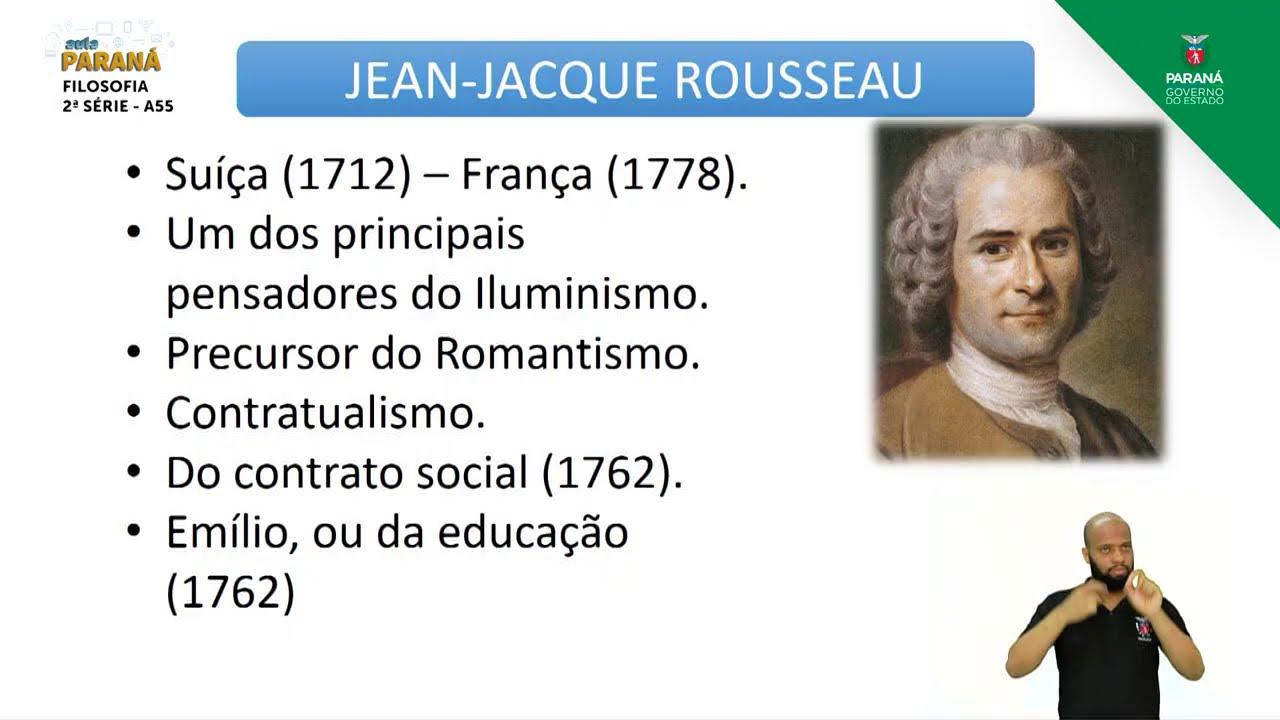 2ª Serie Filosofia Aula 55 Contratualistas Hobbes Locke E Rosseau Youtube