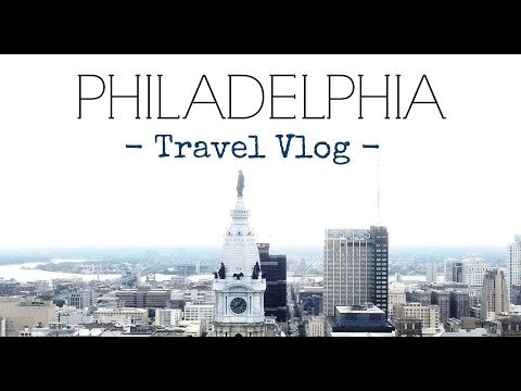 Philadelphia Travel Vlog // Follow Me Around