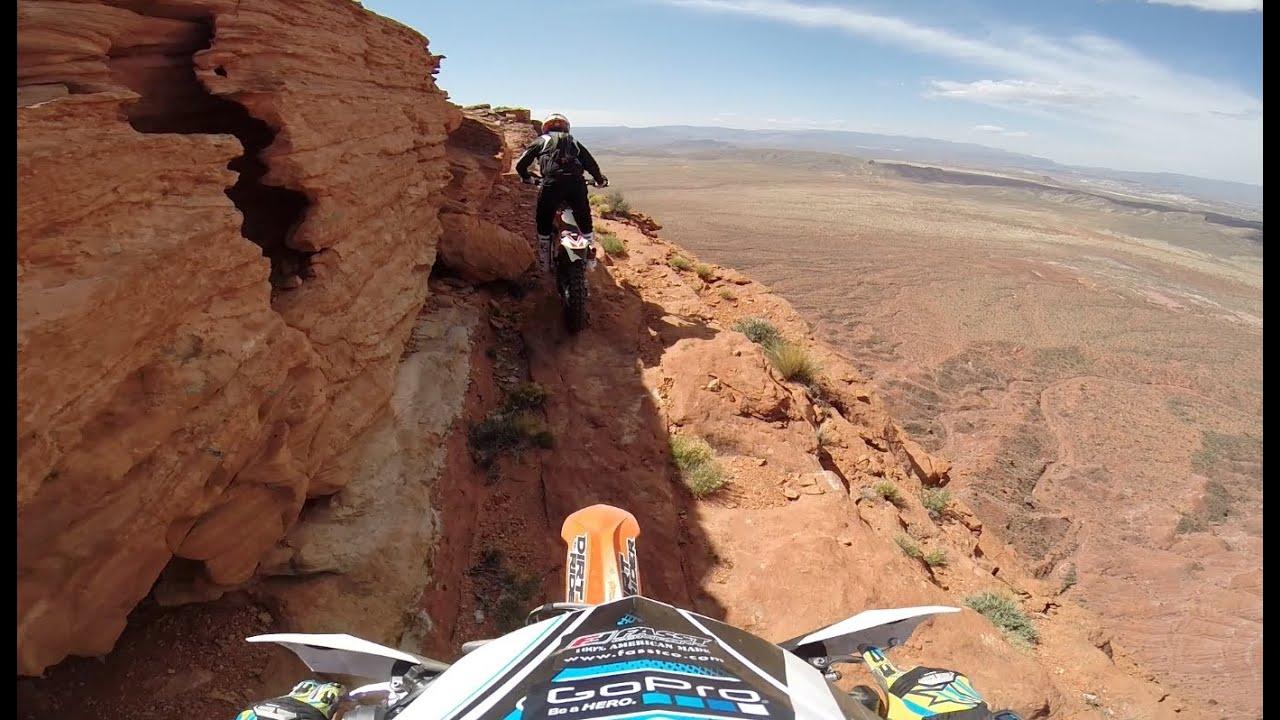 画像: Off-Road Motorcycle Cliff Riding www.youtube.com