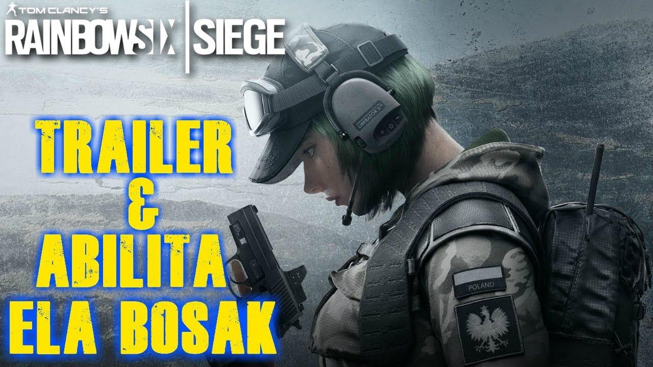 Ela bosak trailer abilit rainbow 6 siege youtube - Rainbow six siege bosak ...