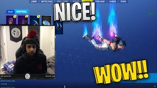 Daequan Reacts to *NEW* Lace and Paradox Skins! - Fortnite Funny Fails and Wtf Moments #3