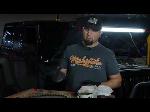 2012-2018 Jeep Wrangler JK 3.6L Coolant Filter Kit: Test Results - Mishimoto R&D