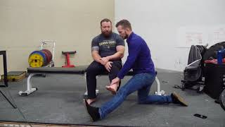 Low Back Pain, Leg Pain in a Elite Powerlifter. A Dermal Traction Method Case Study