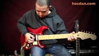 E-guitar - Cách rải hợp âm guitar điện