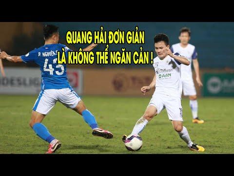 Hà Nội - Than Quảng Ninh | Quang Hải Bùng Nổ Dữ Dội Giúp Chủ Nhà Thắng Lớn Để Nuôi Mộng Vô Địch!