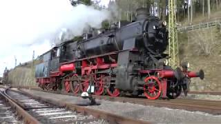 Dampflok 58 311 auf der Dreiseenbahn - 31. Dezember 2019