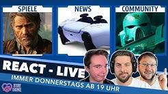 IHR, WIR und die SPIELE! - News, Games & Top-Themen im Live React